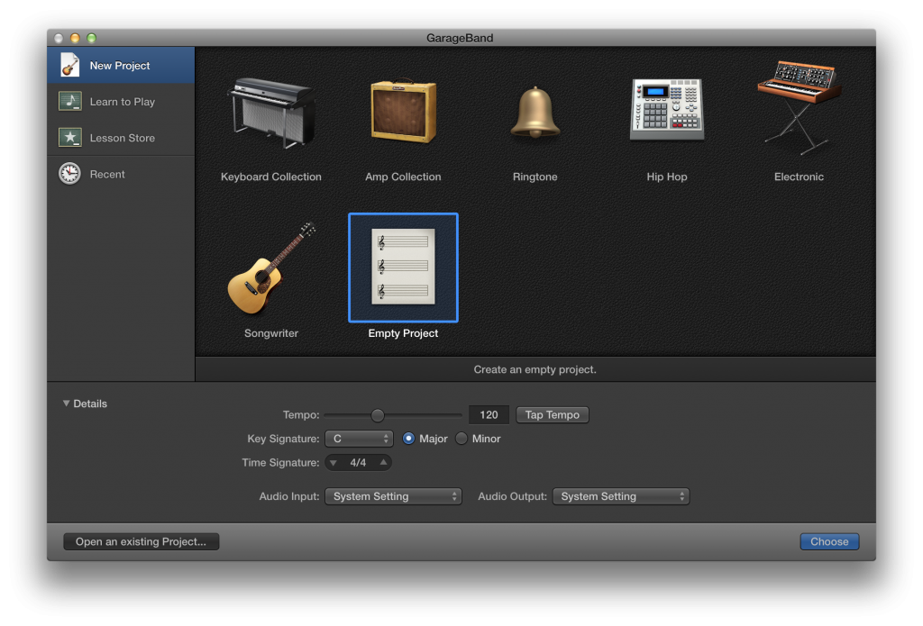 Use Garageband To Transpose A Song Imported From Itunes Ilife 11 Garage Band Music Technology Music Education