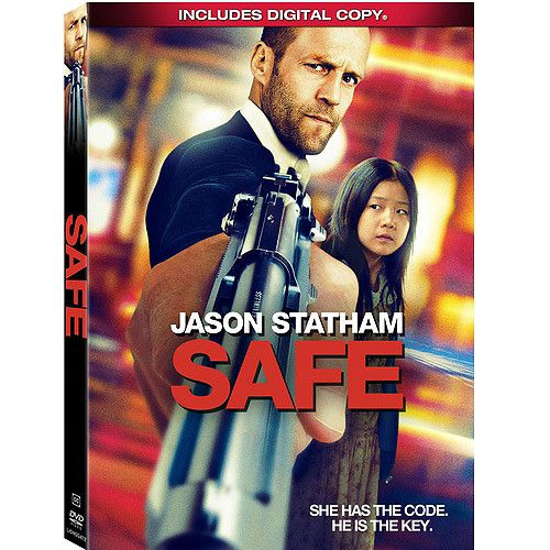 Jason Statham is back in another non-stop action film 'Safe', coming out on DVD and Blu-ray on Tuesday, September 4, 2012.