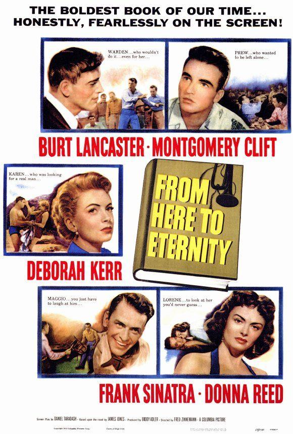 De Aquí A La Eternidad 1953 From Here To Eternity Deborah Kerr Best Movie Posters