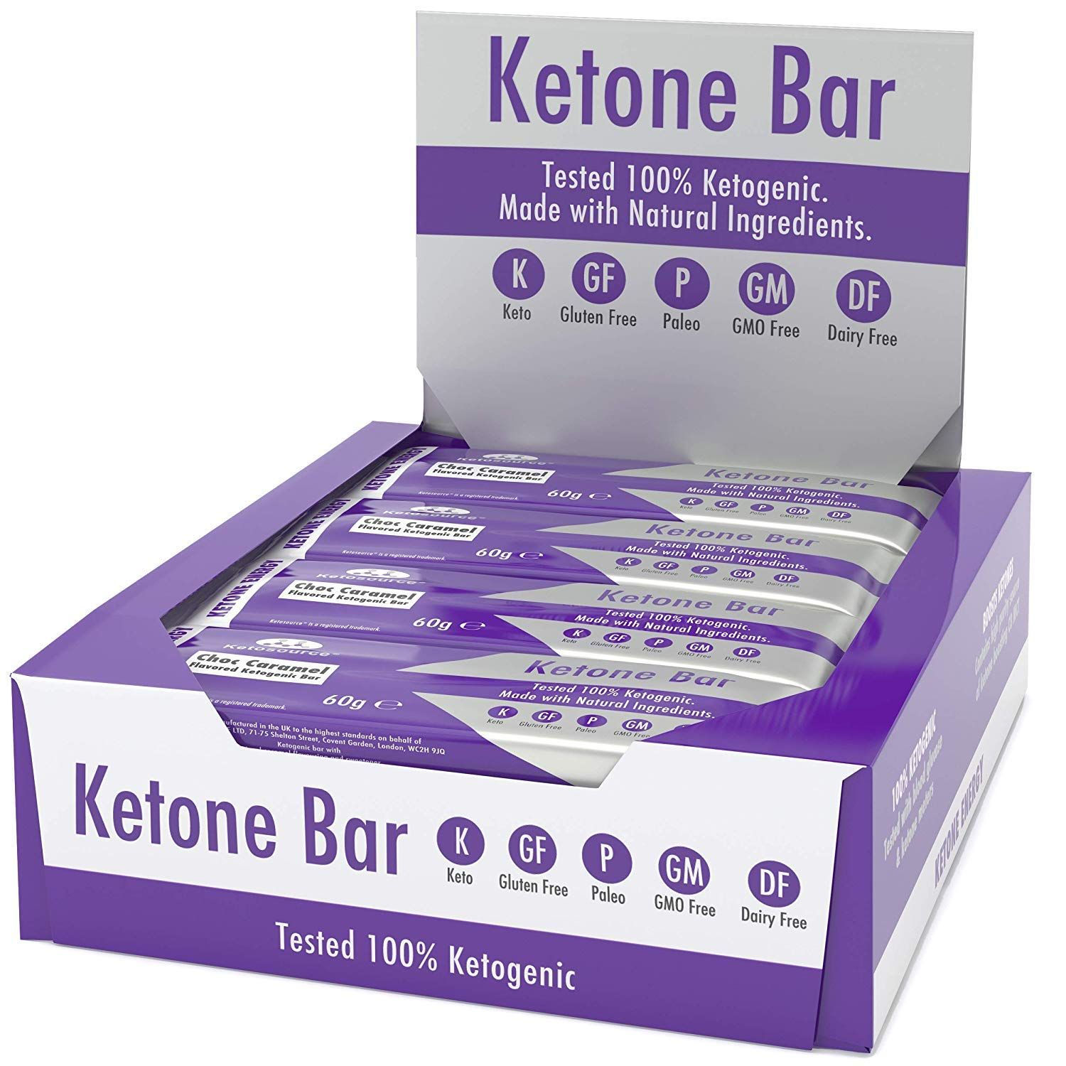 Ketone Bar X G Keto Bars With All Natural Ingredientsketo Snacks For Keto Dietnet Carbs Per Bartruly Amazon Affiliate Lin Keto Bars Keto Diet Snacks Ketogenic