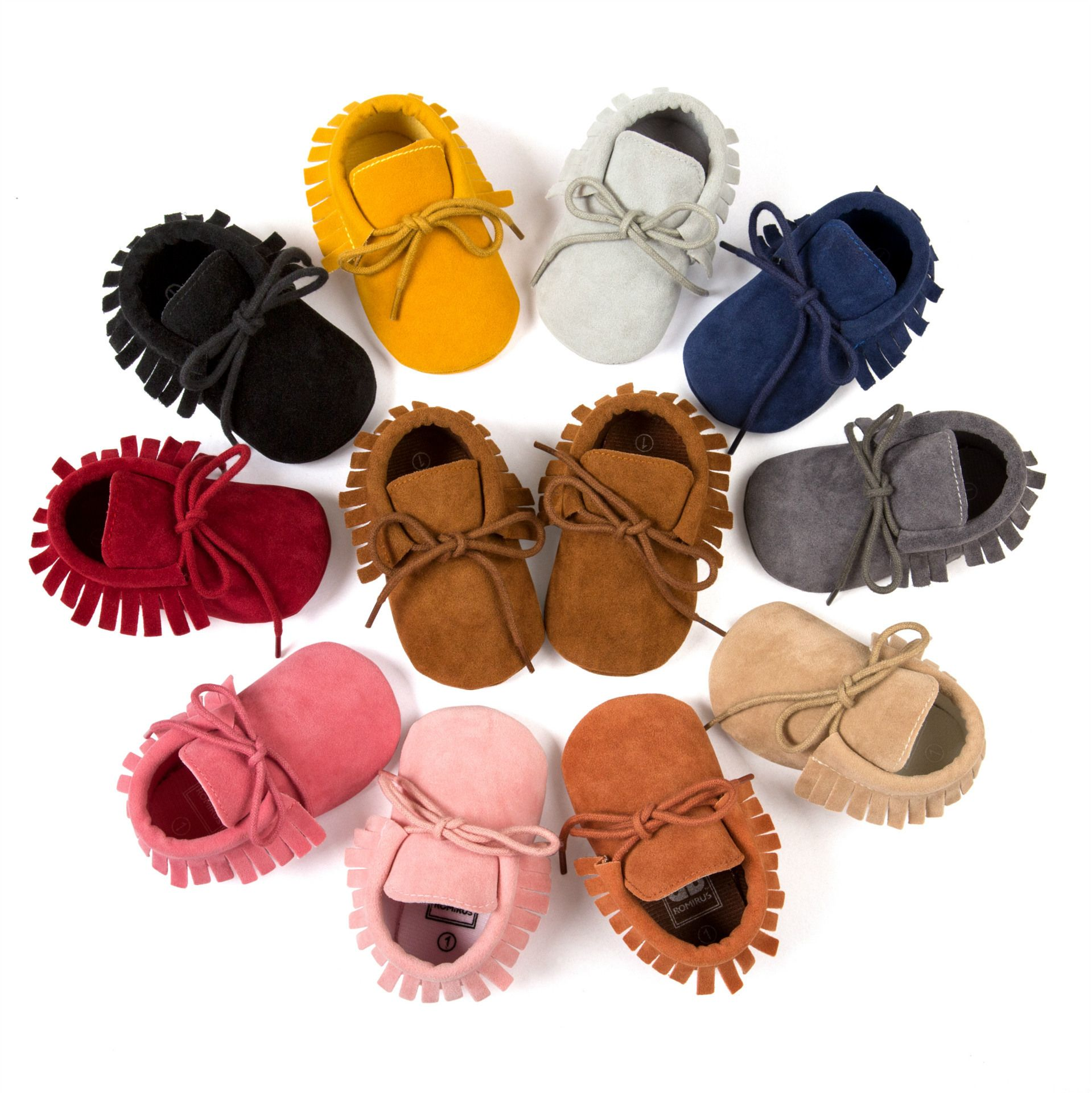 Click To Buy Matte Leather 2016 Lace Up Baby Boy Shoes Tassel Baby Moccasins Infants Toddler Girl S Baby Moccasin Shoes Baby Shoes Newborn Baby Moccasins