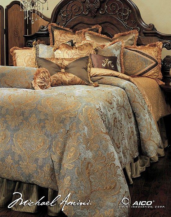 AICO Furniture   Elizabeth Luxury Bedding Sets   51239437 | Great Furniture  Deal
