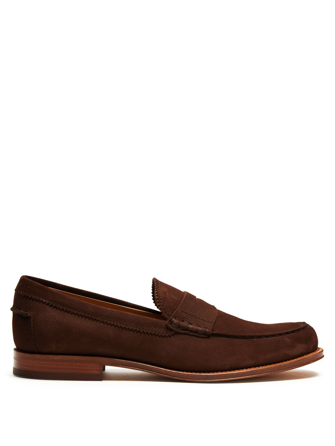 Tod's Round-Toe Penny Loafers enjoy sale online cheap latest get authentic sale online Grey outlet store online free shipping newest bzQNYes