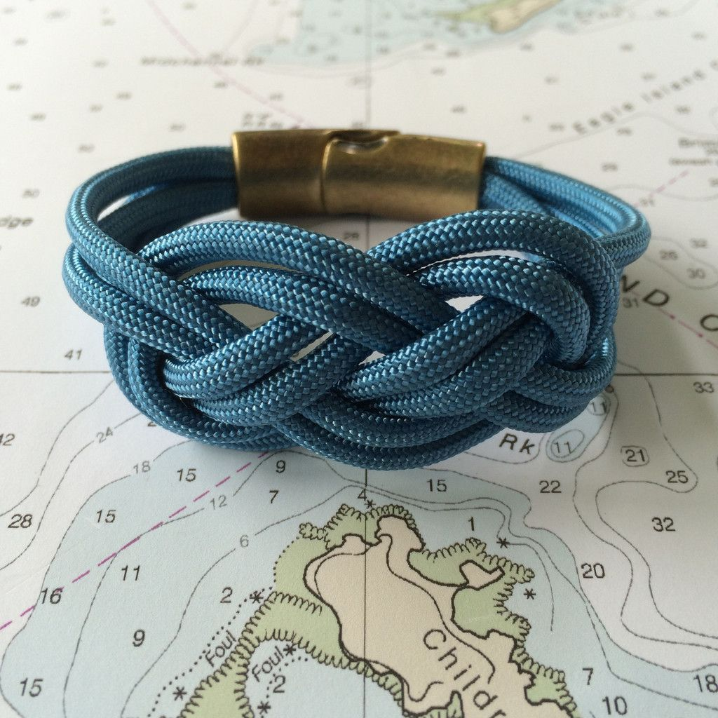 Blue Moon Double Carrick Bracelet $35