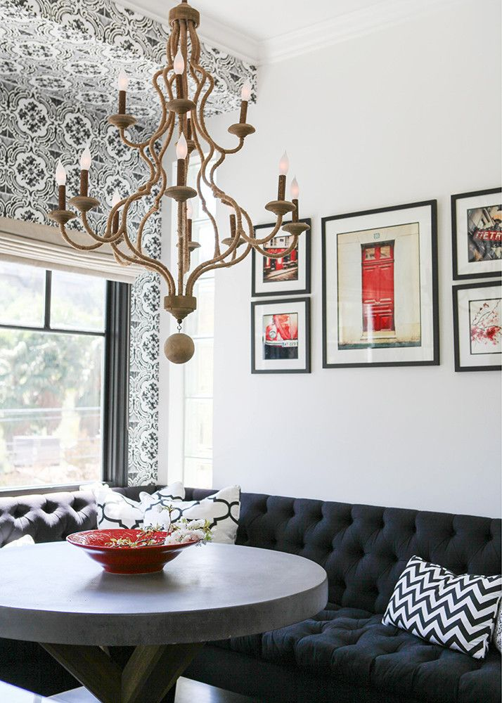 4 Ways To Be Brave With Wallpaper Dining Room Design