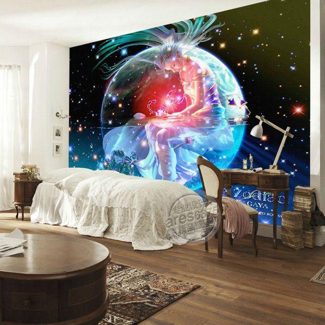 Brilliant galaxy wallpaper scorpio photo wallpaper custom for Galaxy wallpaper for rooms