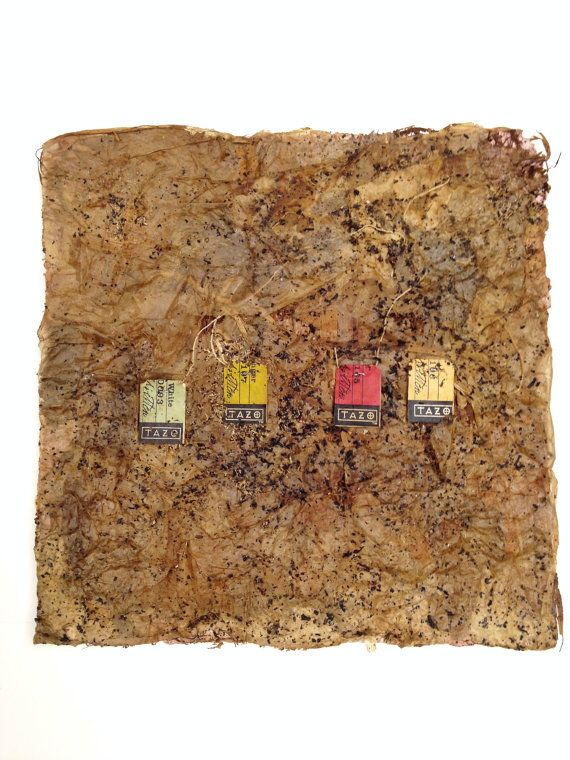 Handmade Paper Square - Tea made by CHRISTIANIMAL