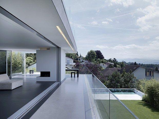 Awesome feldbalz house in zurich switzerland for Modernes haus zurich