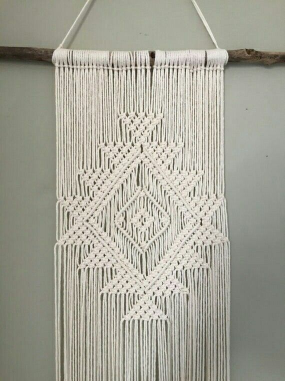Pin de Catelin Johnston en Macrame | Pinterest | Tapices, Colgantes ...