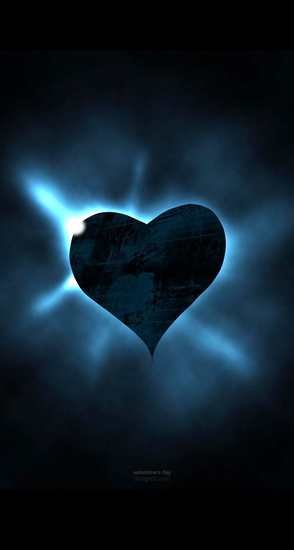 Pin By Christal Porter On Blue All Shades Iphone Wallpapers Heart Iphone Wallpaper Iphone Wallpaper Dark Heart Wallpaper