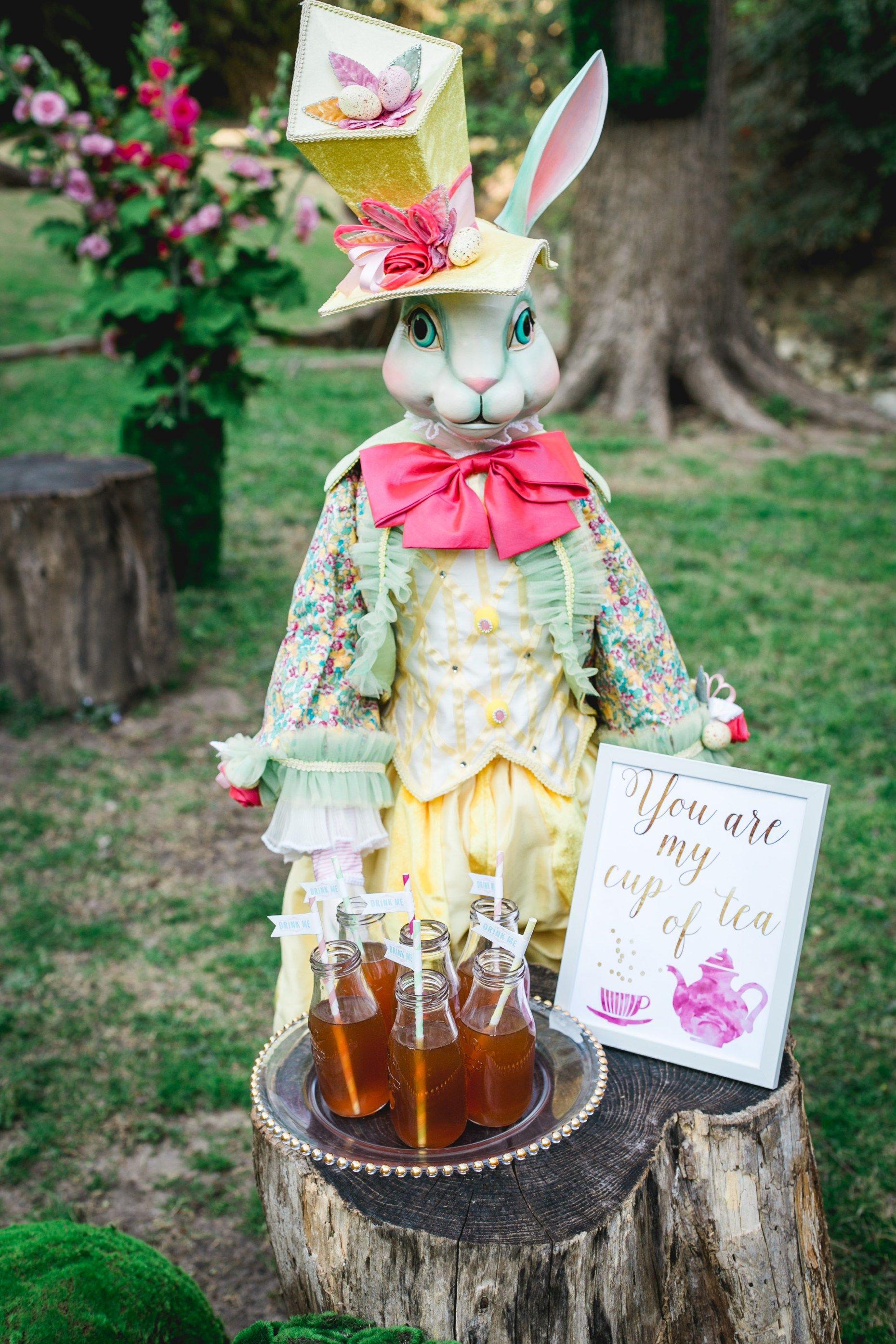 Alice in wonderland easter tea party alice in wonderland