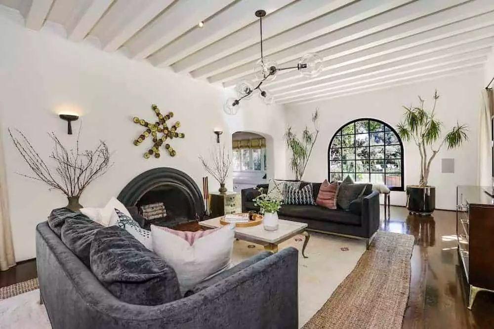50 spanishstyle living room ideas photos in 2020