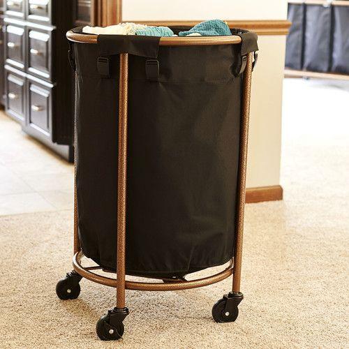 Round Wicker Laundry Hamper Extra Large
