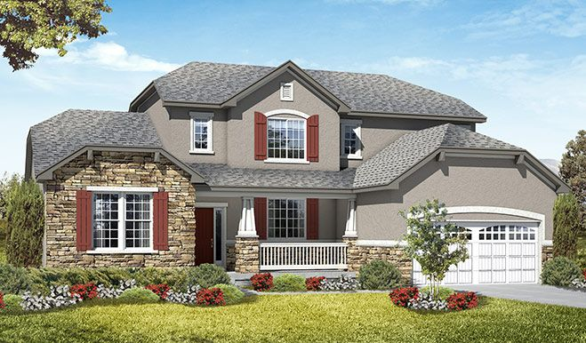 New Homes In Lehi Ut Home Builders In Colonial Park Richmond Homes Richmond American Homes Home Builders