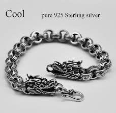 Resultado de imagen para pulseras de plata para hombres
