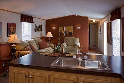 manufactured home remodel pictures lake makeover. Black Bedroom Furniture Sets. Home Design Ideas