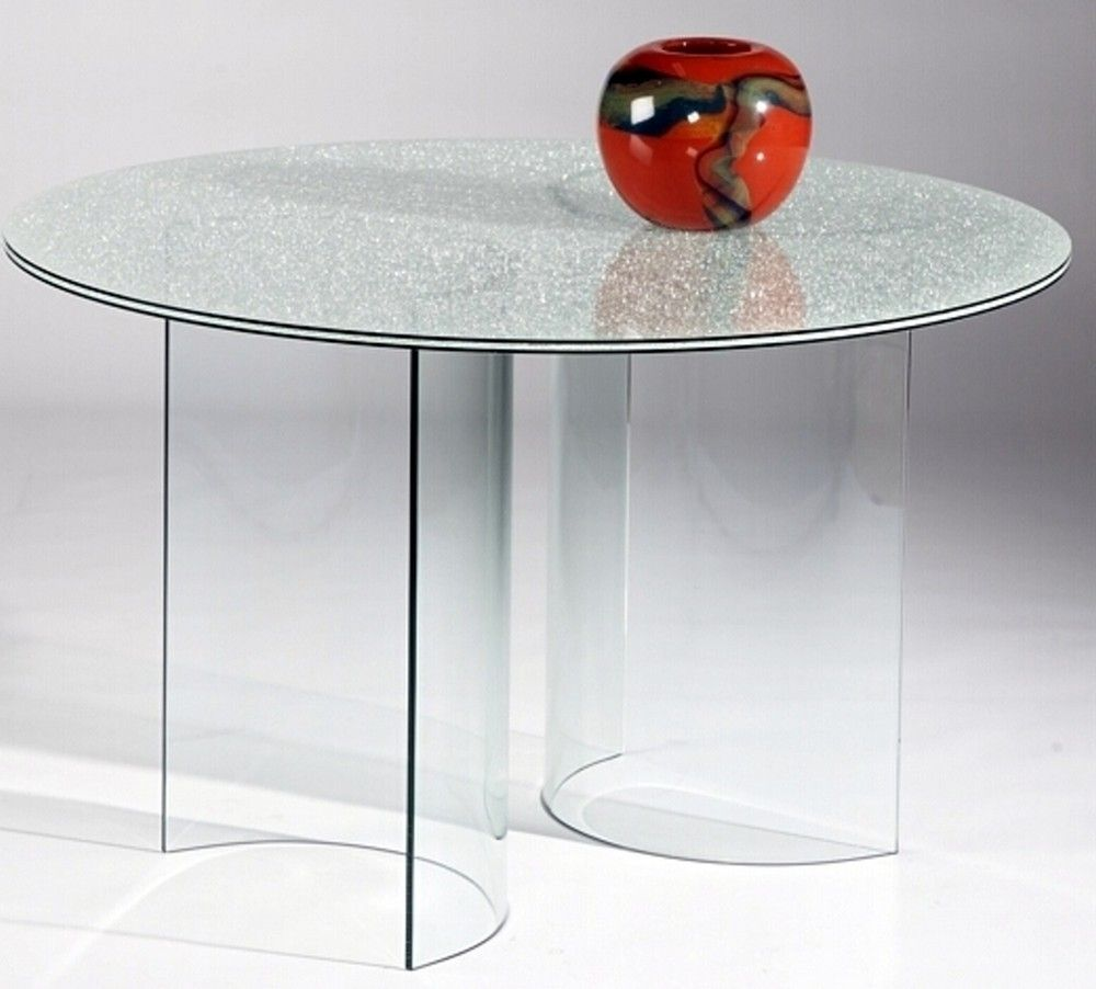 48 Round Frosted Glass Table Top [ jpg ]