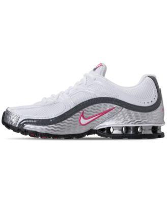 new style 29286 8002e Nike Women s Reax Run 5 Running Sneakers from Finish Line - White 8.5