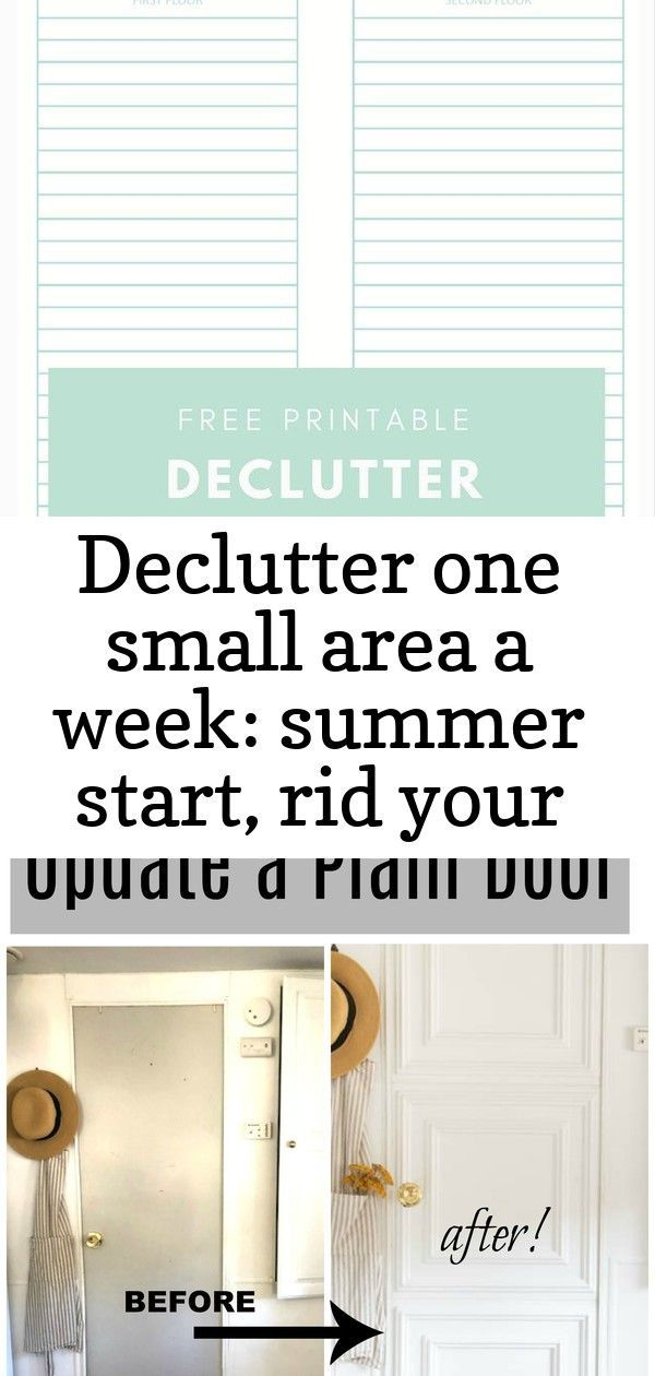 Declutter one small area a week: summer start, rid your home of clutter once & for all with a simple #summerhomeorganization Declutter One Small Area a Week: Summer Start, Rid your home of clutter once & for all with a simple one-step a week plan. Print out your copy of the free printable for time management. This plan will help with your home organization and keep you moving for your goal of an organized home. #printable #freeprintable #timemanagment #homeorganization #declutter #craftingafamil #summerhomeorganization