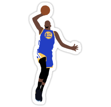 Kevin Durant Dunk Stickers By Rattraptees Redbubble
