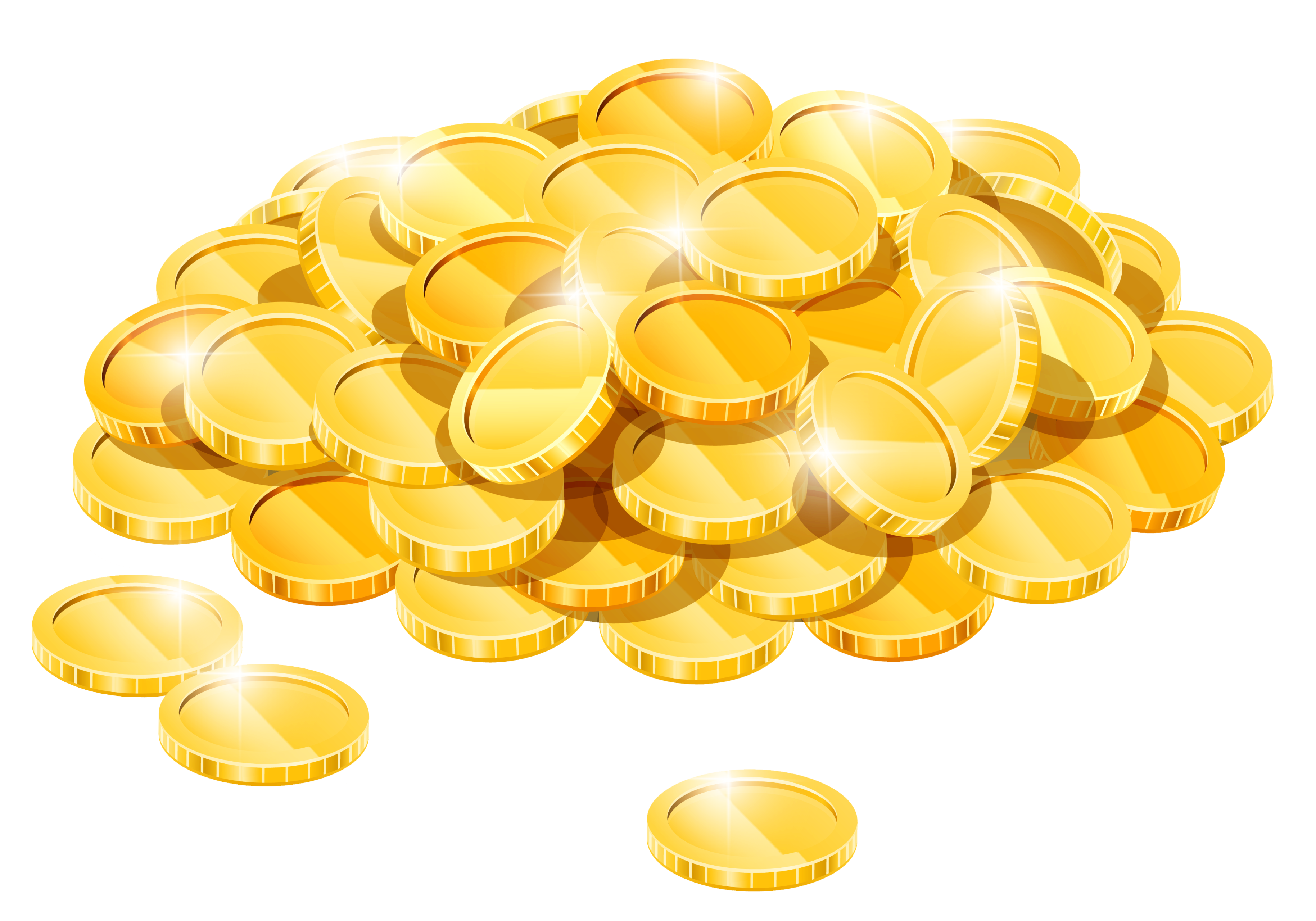 Gold Coins PNG Image Gold coins, Coins, Clip art