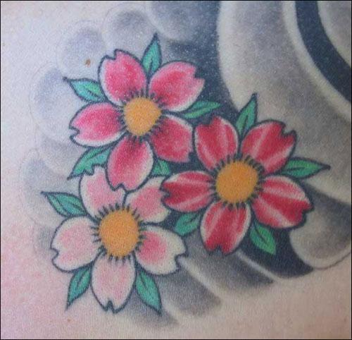 Flores Japonesas Tattoo Buscar Con Google Accesorios Pinterest