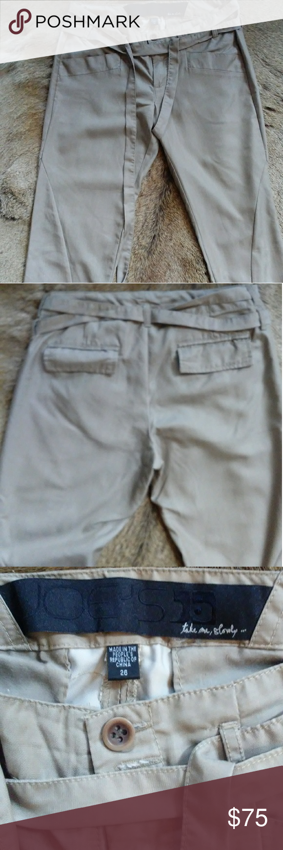 JOE'S Cropped Pant Lovely Joes Cropped pants Size 26 Condition - new without tags JOE'S Pants Ankle & Cropped