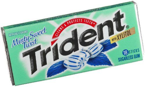 Have you tried this?? Go get it! You need it in your life :) Trident Minty Sweet Twist