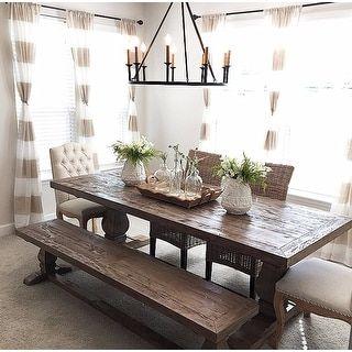 Chandeliers Farmhouse Dining Room Farmhouse Dining Rooms Decor Dining Room Table Decor