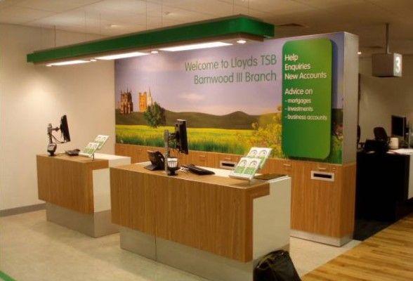 Lloyds Tsb Development Of Lloyds Mock Shop To Nationwide
