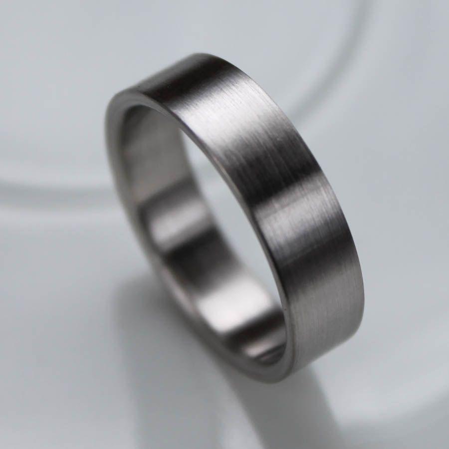 Mens Rings Titanium Wedding Rings Titanium Rings 5mm Comfort Fit