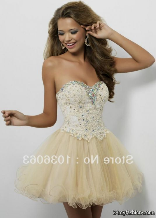 Nice short gold prom dresses under 100 review | Fashion Ideas ...
