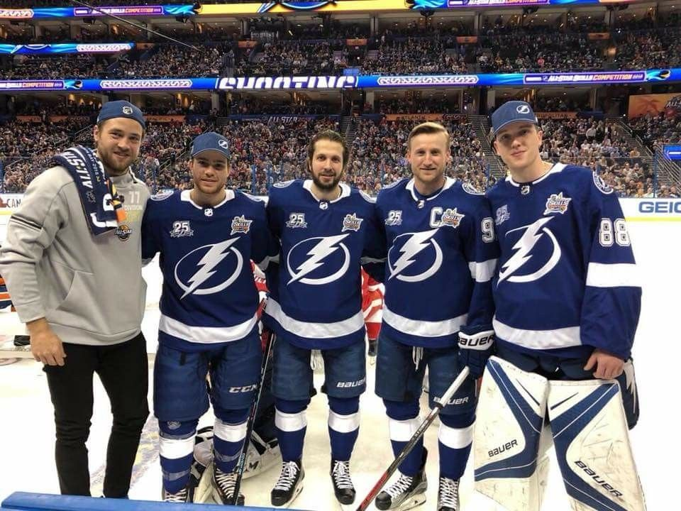 our tampa bay lightning all star s 2018 hockey pinterest