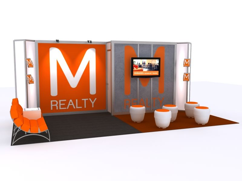 10x20 Tradeshow Booth
