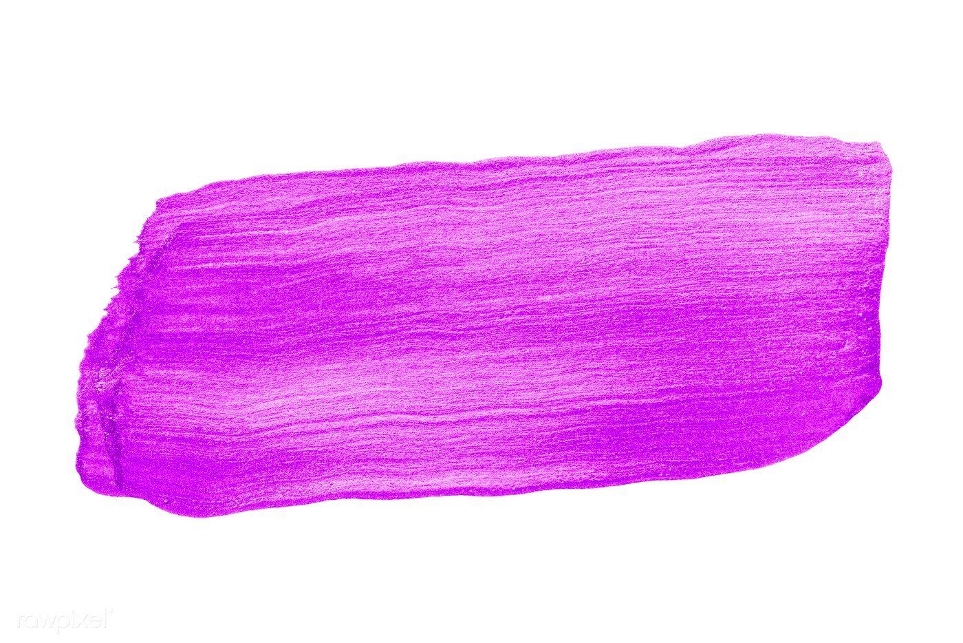 Festive Shimmery Purple Brush Stroke Free Image By Rawpixel Com Ake In 2021 Pink Brushes Brush Strokes Brush Stroke Png