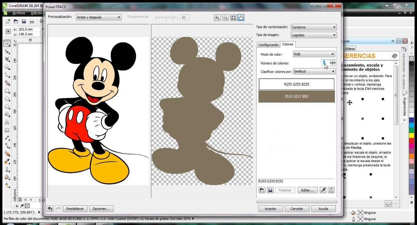 Corel draw clipart images - Vectorizando Im Genes Mapa De Bits En Corel Draw