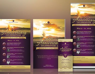"Check out new work on my @Behance portfolio: ""Church Anniversary Template Kit"" http://be.net/gallery/54507917/Church-Anniversary-Template-Kit"