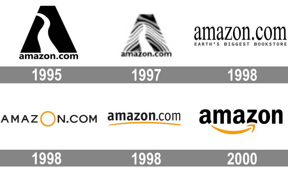 Meaning Amazon logo and symbol history and evolution