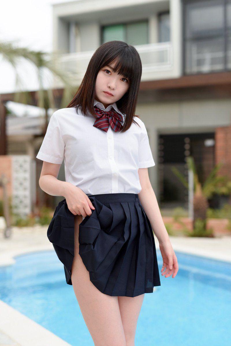 девушки в японских юбках мужем