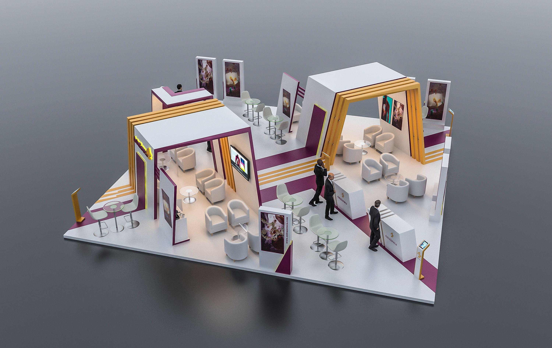 Https Www Behance Net Gallery 61782801 Astrazeneca Exhibition Booth Dubai Exhibition Booth Exhibition Exhibition Stand
