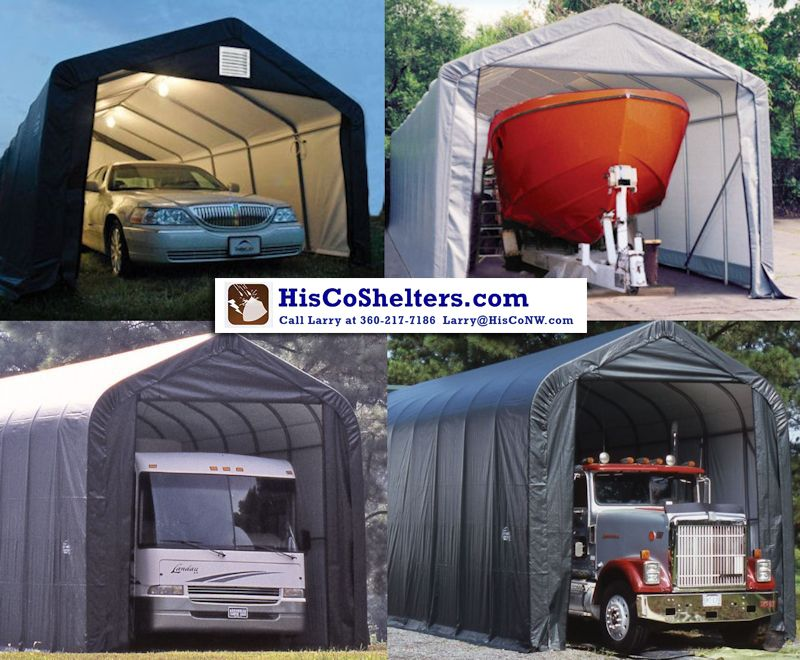 Largest Selection Of RV Shelter Garage Includes Everything You Need Call Larry For Free Counsel Quote At Parts Tarps Accessories