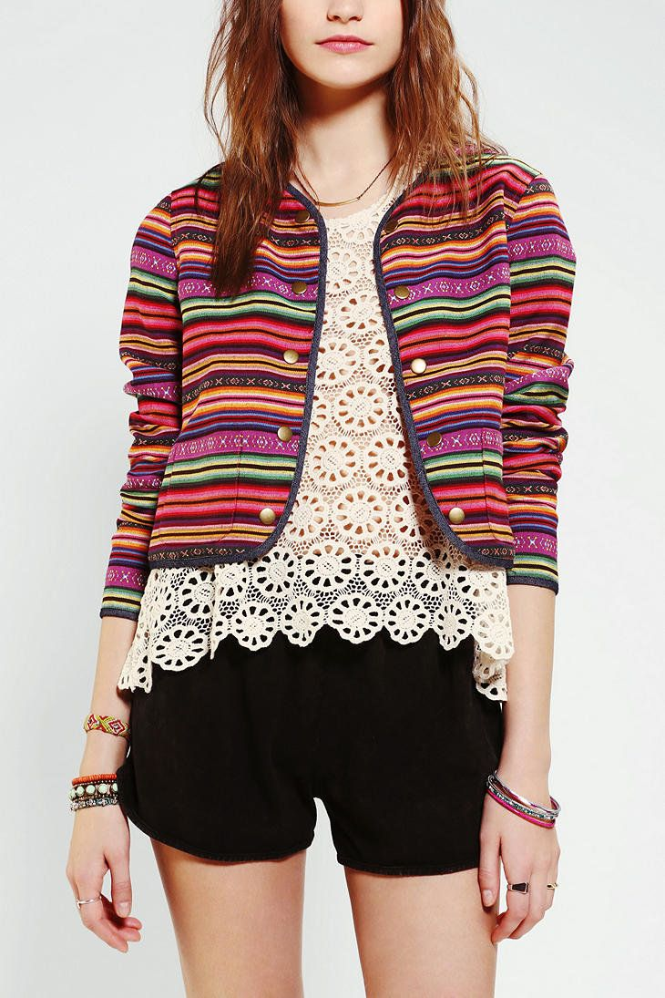 Pin by Maureen Maher on stylin   profilin   Pinterest   Striped jacket 895355c1cf9