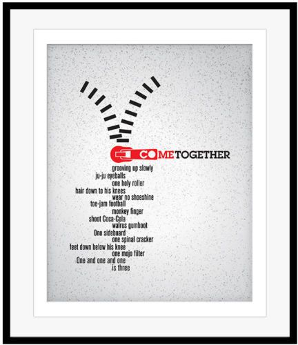 Details About Song Lyric Art Music Quote Print Poster Wall Decor