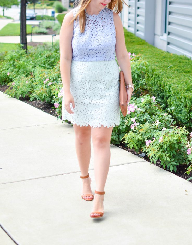 f627f3d774ac An outfit post featuring the Cynthia Rowley Periwinkle Pistachio Block Up  Sheath Dress, perfect for summer weddings.