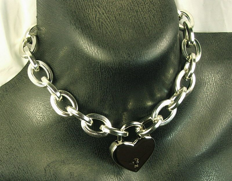 Bdsm chain collars