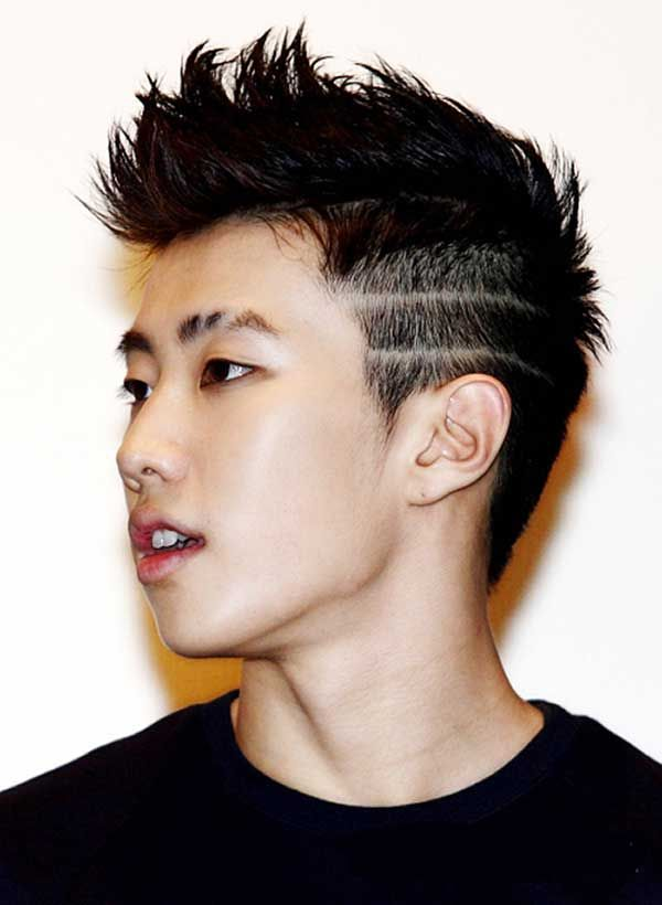 Asian Male Hairstyles 2014 Com Imagens Penteados Masculinos