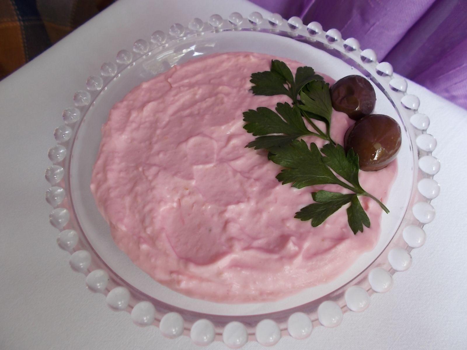 Salad with Fish Roe|Greek food