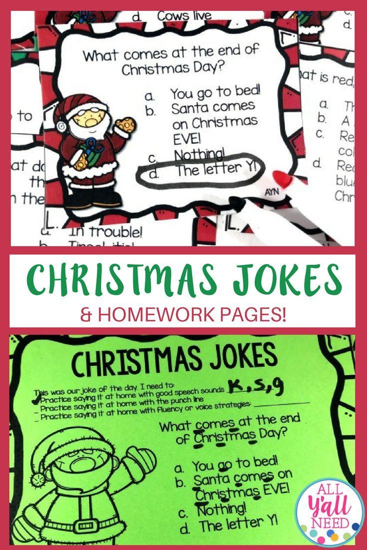 Christmas Jokes | Pinterest | Christmas jokes, Homework and Students