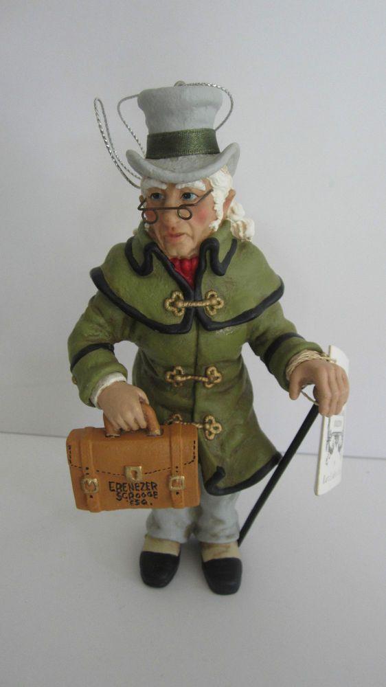 KURT ADLER DICKENS CHRISTMAS CAROL ORNAMENT SCROOGE ESQUIRE,,I NEED This So  Much. - Kurt Adler Dickens Christmas Carol Ornament Scrooge Esquire Things