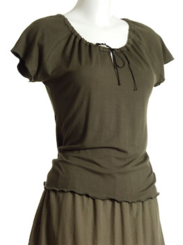 Flügelärmel T-Shirt 34-52 QUICK&EASY SCHNITTMUSTER | Oberteile ...